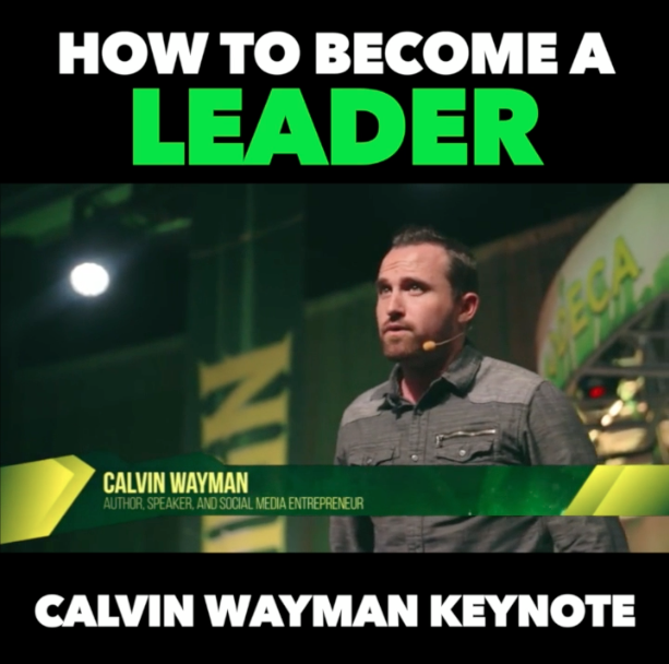 How to Become a Leader – FULL KEYNOTE!